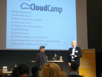 Cloud Camp på Internetdagarna, dag 3